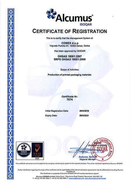 ohsas sertifikat